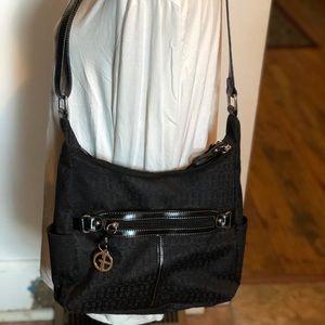 Gianni Bernini Black purse
